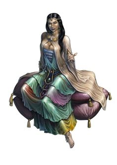 Djinn - Egyptian - Female - Bosa