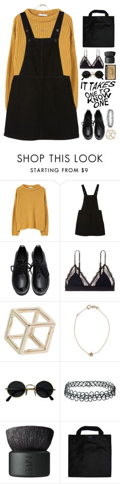 """""""get busy living or get busy dying"""" by astrologykiller ❤ liked on Polyvore featuring MANGO, Monki, LoveStories, Topshop, Kismet, NARS Cosmetics and Black+Blum"""