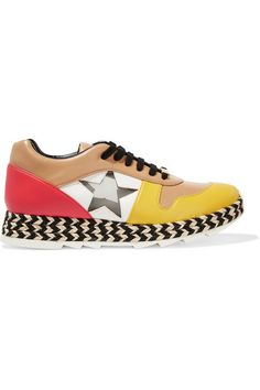 Espadrille meets sneaker to form the coolest kicks of the season.