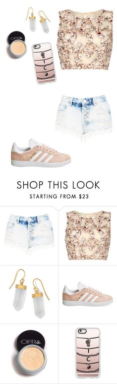 """""""Untitled #206"""" by breanna113 ❤ liked on Polyvore featuring Boohoo, Raishma, BillyTheTree, adidas and Casetify"""