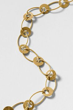 Disc Link Necklace from Lands' End