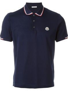 MONCLER Logo Polo Shirt. #moncler #cloth #shirt