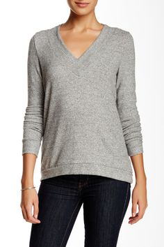 Harlowe & Graham | V-Neck Soft Pullover Sweater | Sweaters and ...