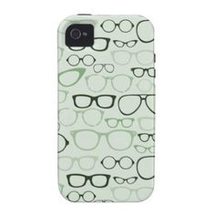 Mint Hipster Glasses from Zazzle.com