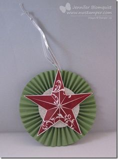 Getting Creative with the Christmas Star Stamp   Northwest Stamper