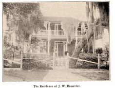 A Place in Time: The Rosseter House in Old Eau Gallie, Melbourne, Florida - In the Fall, the House hosts a Witches Tea. Guests are invited to wear their best witching attire. Reservations are required and it sells out very quickly, as the tea is only offered one Saturday in October. In addition to the tea, you can also get your palm read or tea leaves read, and then go on a ghost tour of the two homes.