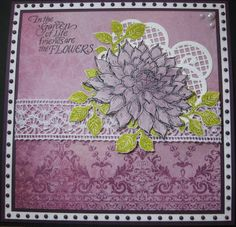 Inky Finger Zone Heartfelt Creations Cards, Purple, Pink, Embellishments, Finger, Sue Wilson, Stamp, Paper, Creative