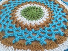 Selina's #Crochet #MandalasForMarinke