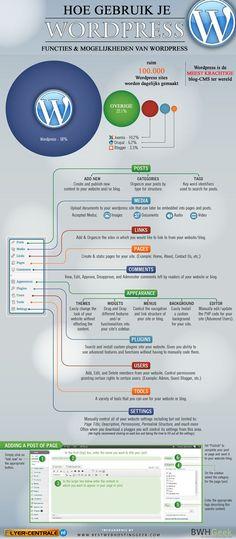 Hoe gebruik je Wordpress? Een Infographic met alle informatie! successfulsocialmedia