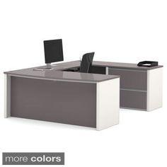 Bestar Embassy U-shape Desk | Overstock.com Shopping - The Best Deals on U-Shape Desks