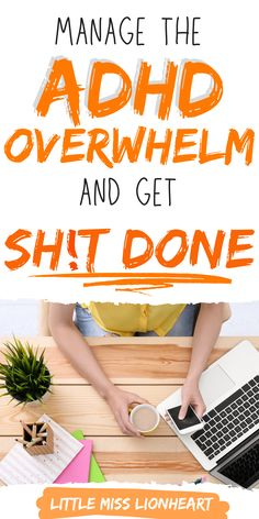 ADHD and anxiety make it hard to be get things done. Here's how to stop feeling overwhelmed and be more productive! #ADHD #ADHDwomen #adhdproblems #ADHDstrategies #executivefunction #productivity #beproductive Causes Of Adhd, Adhd Facts, Adhd Brain, Adhd Strategies, Organizing, Organization, Adult Adhd, Alzheimer's And Dementia, Adhd Kids
