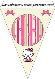 Imprimibles de Hello Kitty 15.