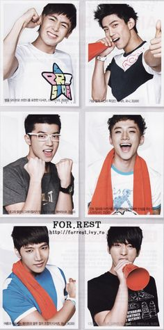 Nichkhun, Taecyeon, Wooyoung, Junho, Minjun, Chansung - 2PM