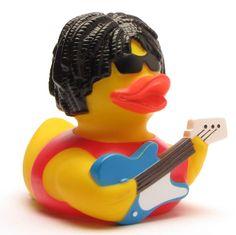 Badeente-Rockstar  Rubber Duck Rockstar