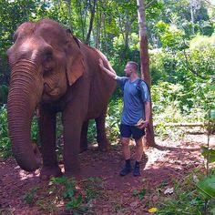 Elephant Sanctuary in Cambodia
