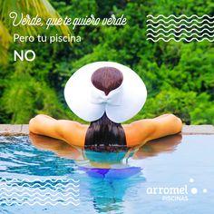 En el #DíaDeAndalucía...Verde, que te quiero verde pero tu piscina no 😉