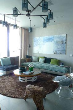 A Frank Roop living room