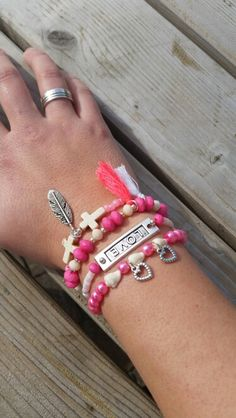 Ibiza bracelet pink ❤