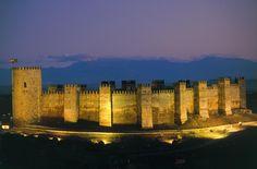 Castillo de Bury Al-Hamma.Burgalimar .Jaen Spain.