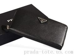Discount #Prada M506A Wallets in Black Outlet store