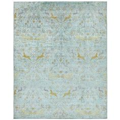 "Aquasilk Overdyed Rug 11'9""x14'9"" (59.733.445 COP) ❤ liked on Polyvore"