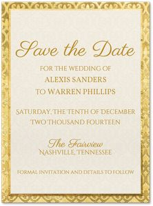 Dear to Me Save the Date Card | Invitations By Dawn