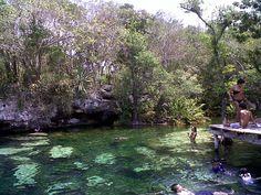 Cenote Azul, Riviera Maya, Mexico