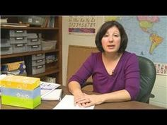 Teaching : How to Teach Writing to Learning Disability Students - YouTube  Focusing on visual organization for learning disabled students seems to be helpful in the writing process