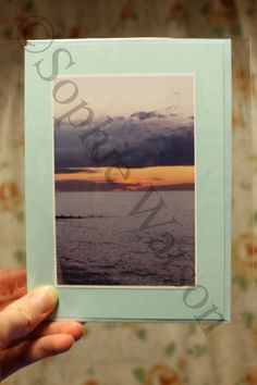 Good afternoon! This week's Item of the Week is our Glorious Sunset Photo Greetings Card, with 20% off! Was £2.00, Now £1.60! This card is blank inside for your own personal message. (This offer will run from Sun 2nd June until Sun 9th June 2013). THIS OFFER HAS NOW EXPIRED.