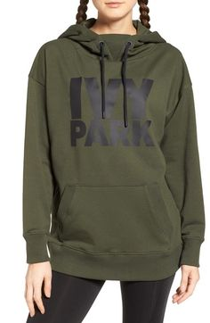 oversized Sz S Ivy Park Zip Through Hoody