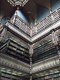 Real Gabinete Português de Leitura RJ by Eugenio Hansen, OFS, via Flickr
