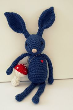 Crochet rabbit