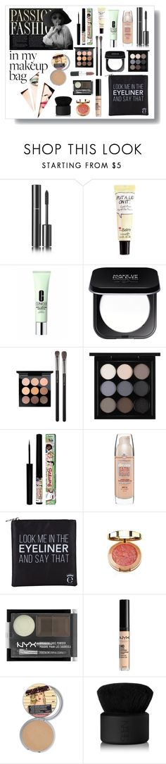"""""""Look me in the eyeliner"""" by taniagf ❤ liked on Polyvore featuring beauty, Chanel, Clinique, MAKE UP FOR EVER, MAC Cosmetics, TheBalm, Maybelline, Eyeko, NYX and NARS Cosmetics"""