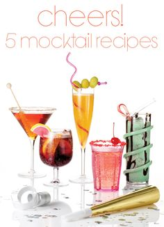 5 Mocktail Recipes for Kids & Pregnant Mommas Alike | Parenting.com