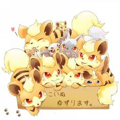 pokemon arcanine cute - Recherche Google