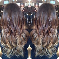 I want my hair this color!