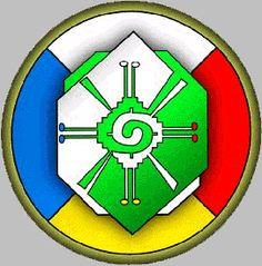 Mayan calender symbol for water, Muluk(pronounced mul ok ...