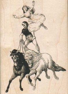 acrobats on horses