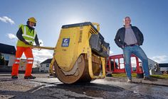 Alness businessman volunteers to fill in areas potholes -  CASCADE  Mark Armstrong was able to deploy extra resources to ensure the potholes were fixed  Mark Armstrong says he has spare asphalt and hes happy to deploy his 15-strong staff and equipment to do the job.  Highland Council which agreed a 7.3million package of cuts and restructuring in February has informally agreed to let him do the work.  Mr Armstrong 48 a former Queens Own Highlanders lance corporal runs a civil engineering…
