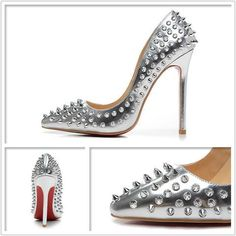 Silver Studded Rivets Shoes