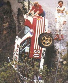 Marc Duez Tour de Corse 1988 BMW M3 E30