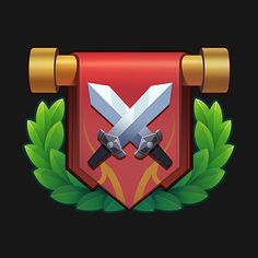 ArtStation - Game Icons of Lords Mania, Vinh Lam Badge Icon, Cloud Icon, 3d Icons, Game Ui Design, Mobile Game, Art Boards, Game Art, Character Design, Games
