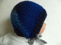 Babymütze Merinowolle 35-38cm gestrickt Wolle Baby