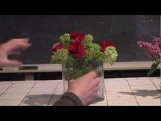 Quick And Easy Lilac and Viburnum Flower Arranging--from Rittners Floral School, in Boston, MA  www.floralschool.com