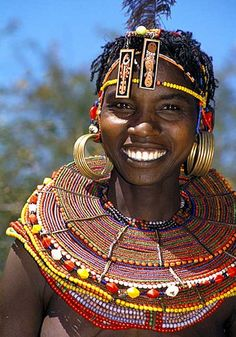 The Pokot are traditionally pastoral cultivators of East African grasslands.- Colin M. African Image, African Art, African Tribes, African Women, African Beauty, African Fashion, Kenya, African Culture, World Cultures