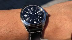 HAMILTON Khaki Field H68551733 Hamilton Khaki Field, Watches, Leather, Accessories, Wrist Watches, Wristwatches, Clocks, Clock