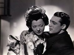 Cary Grant and Sylvia Sidney in Paramount Pictures' Madame Butterfly. Golden Age Of Hollywood, Hollywood Stars, Classic Hollywood, Old Hollywood, Hollywood Icons, Cary Grant, Loretta Young, Mae West, Carole Lombard