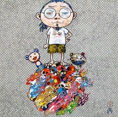 Takashi Murakami Prints for sale - Me and the Mr. DOBs  #murakami #takashimurakami #pop #dobs #print