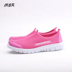 MBR Women Casual Shoes 2017 New Arrival Women s Fashion Air Mesh Summer  Shoes Female Slip- 4cbbd82cce3a