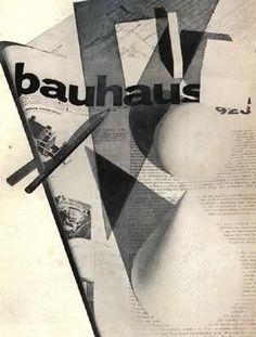 Herbert Bayer  1928 (Bauhaus) cover for bauhaus magazine